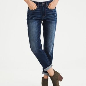 American Eagle TomGirl Button Fly Blue Jeans 00